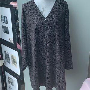 J.Crew factory polka dot dress
